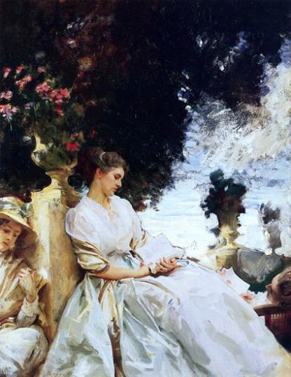 In a Garden, Corfu 1909