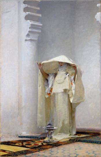 Fumée D'ambre Gris (Smoke of ambergris) 1880