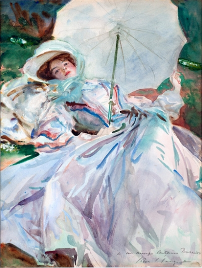 The Lady With the Umbrella 1911