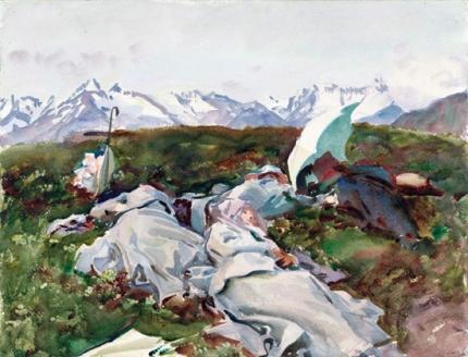 Simplon Pass-At the Top 1909