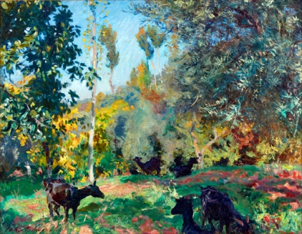 Landscape With Goats 1909