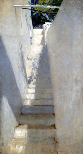 Staircase In Capri 1878