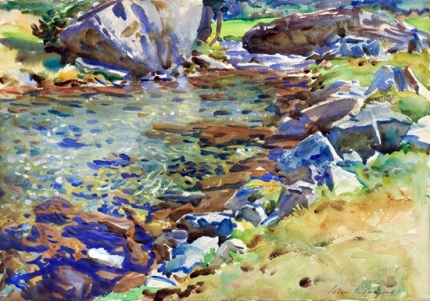 Brook among Rocks 1906