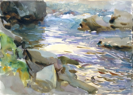 Stream and Rocks 1901