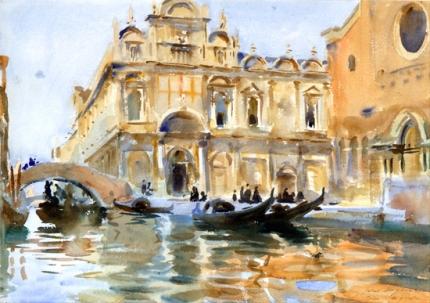 Rio Dei Mendicanti, Venice 1909