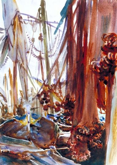 Venetian Fishing Boats 1904
