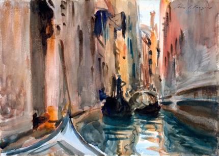 Rio Di San Salvatore, Venice, 1906