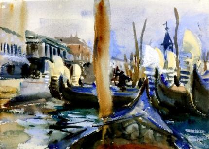 Riva Degli Schiavoni, Venice 1904
