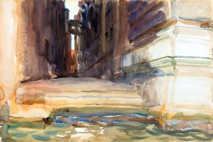 The Calle Della Rosa With the Monte Di Pietà, Venice 1904