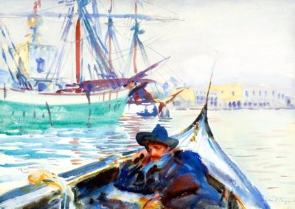 The Giudecca (a Summer Day on the Giudecca, Venice) 1907