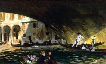 The Rialto, Venice 1911