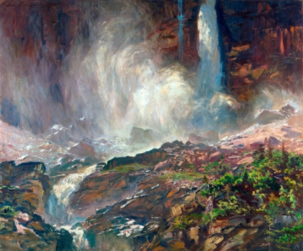 Yoho Falls, 1916