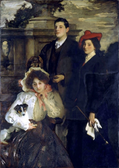 Hylda, almina and Conway, Children of asher Wertheimer 1905