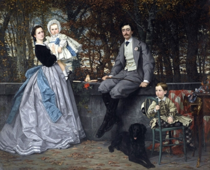 Marquis and Marchioness of Miramon and their Children
