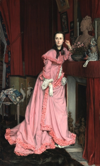 Portrait of Marquise De Miramon, Nee, therese Feuillant