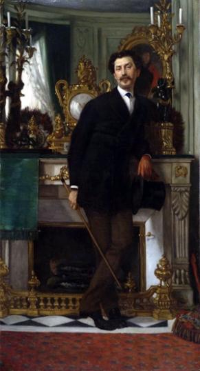 Portrait of Eugene Coppens De Fontenay