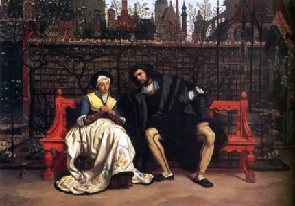 Faust and Marguerite In the Garden