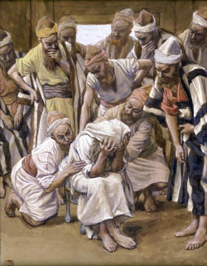Jacob Mourns His Son Joseph