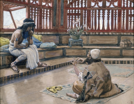 Joseph Converses With Judah, His Brother