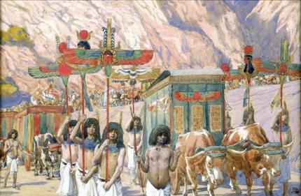Jacob's Body Is Taken to Egypt