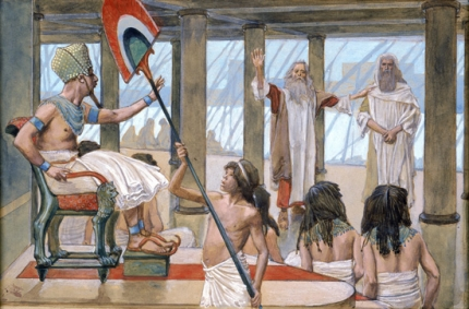 Moses Speaks to Pharaoh