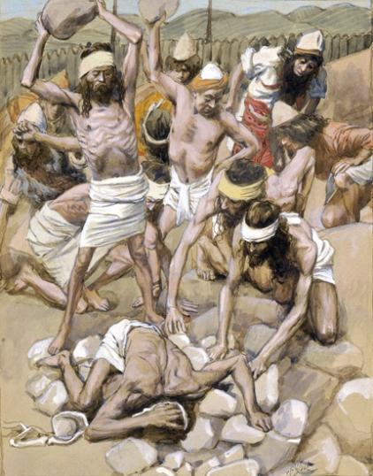 The Sabbath-Breaker Stoned