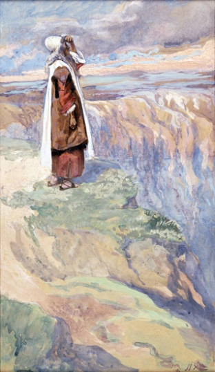 Moses Sees the Promised Land From Afar