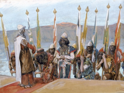 Moses Blesseth Joshua Before the High Priest