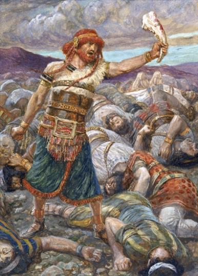 Samson Slays a Thousand Men