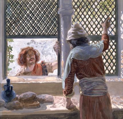 David and Ahimelech