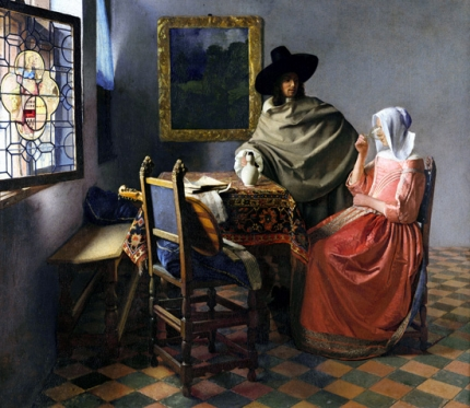 The Glass of Wine 1661