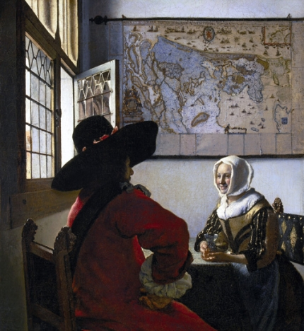 Officer and Laughing Girl 1657