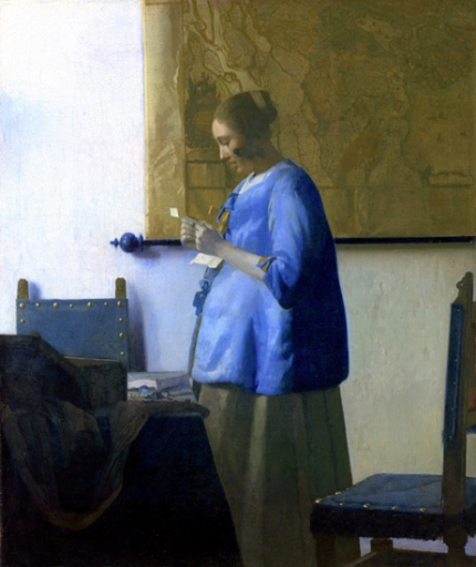 Woman Reading a Letter 1663