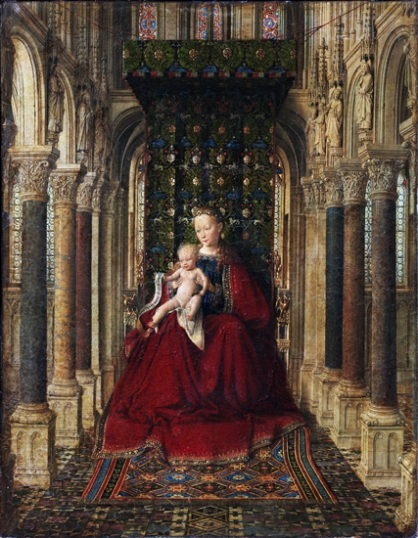 Virgin and Child - Triptych - Center Panel