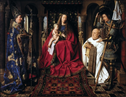 The Virgin and Child with Canon van der Paele