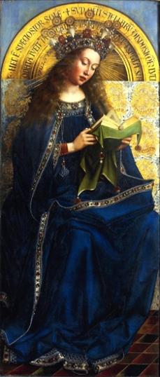 3. The Ghent Altarpiece Virgin Enthroned