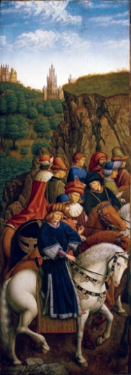 8. The Ghent Altarpiece Just Judges