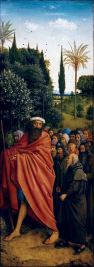 12. The Ghent Altarpiece Hermits
