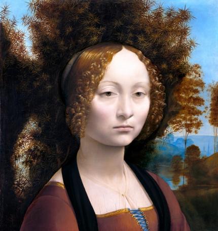 ジネーヴラ・デ・ベンチの肖像