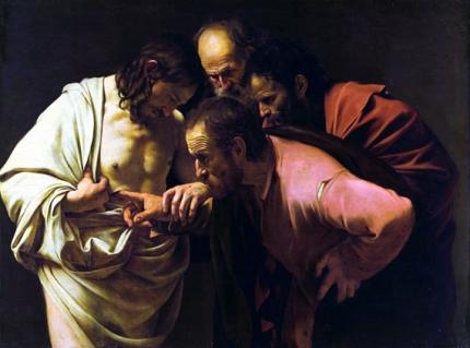 Doubting Saint Thomas 1601