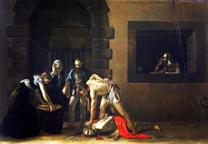 Beheading of Saint John the Baptist 1608