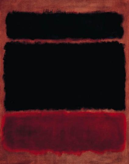 Black In Deep Red, 1957