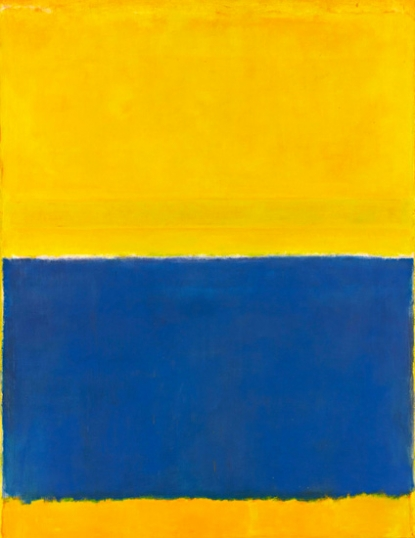 Untitled (Yellow And Blue)