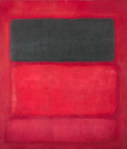 Black Over Reds (Black On Red)