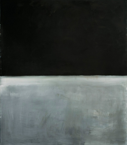 Untitled, Black On Gray, 1969