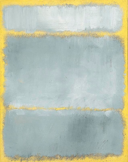Untitled (Grays In Yellow), 1960