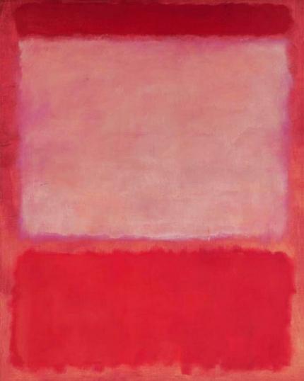 No 16 (Orange, Purple, Orange), 1960