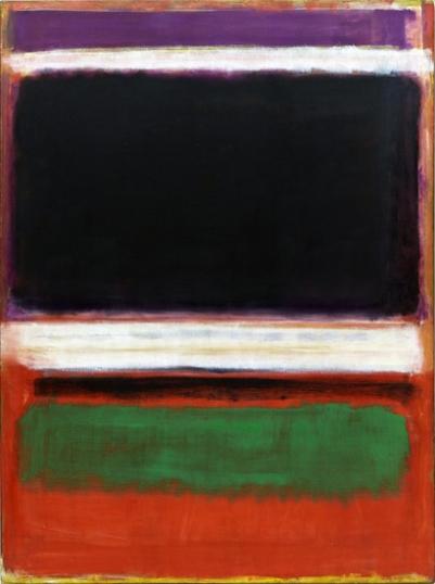 No.3 /No.13 (Magenta, Black, Green On Orange)