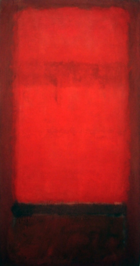 No. 36 (Light Red Over Dark Red) - 1955-57