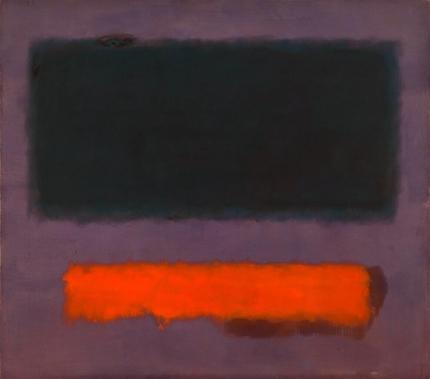 No. 8 Grey, Orange On Maroon